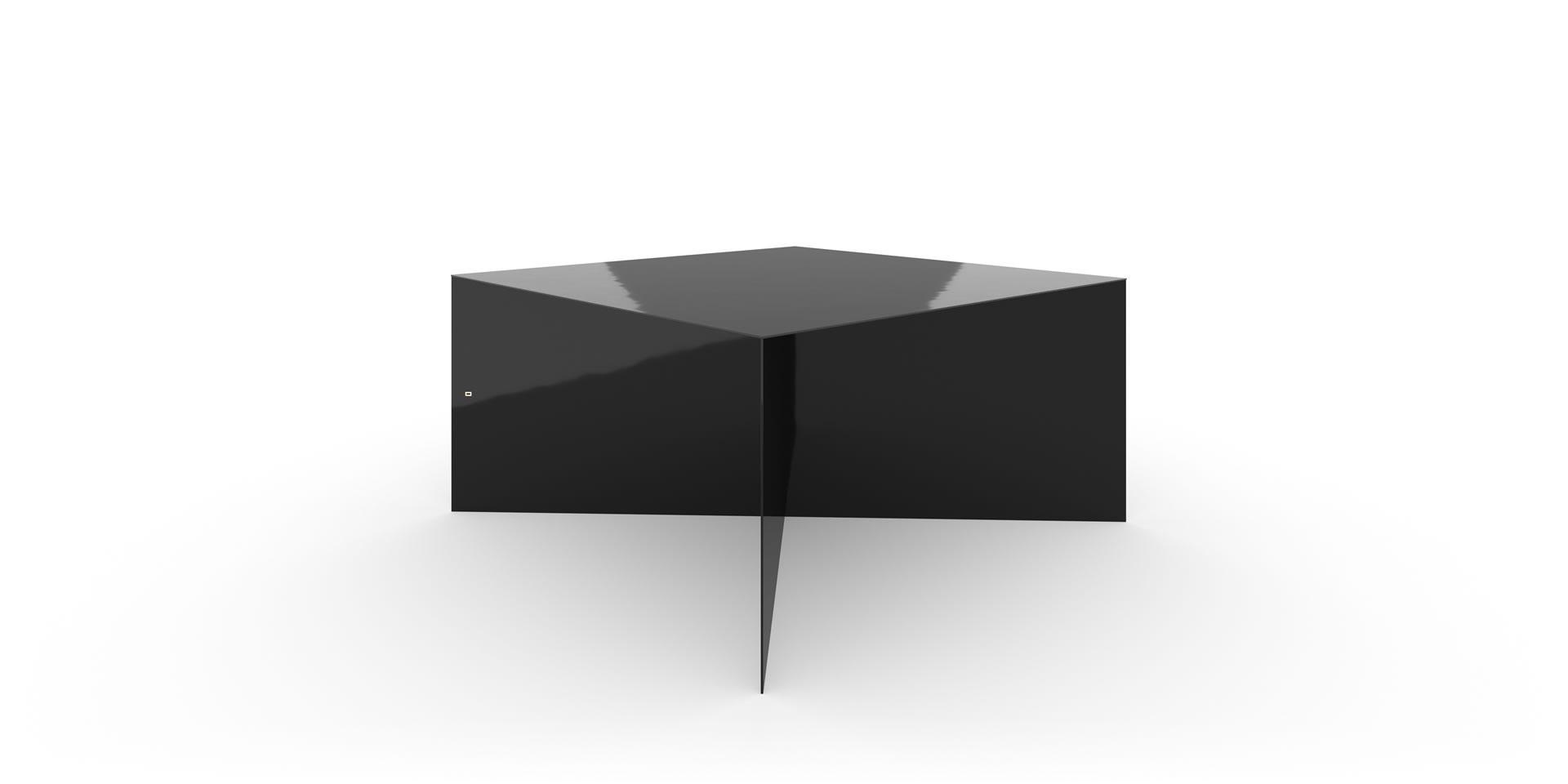 Design besprechungstisch x fu tisch klavierlack schwarz for Design tisch schwarz
