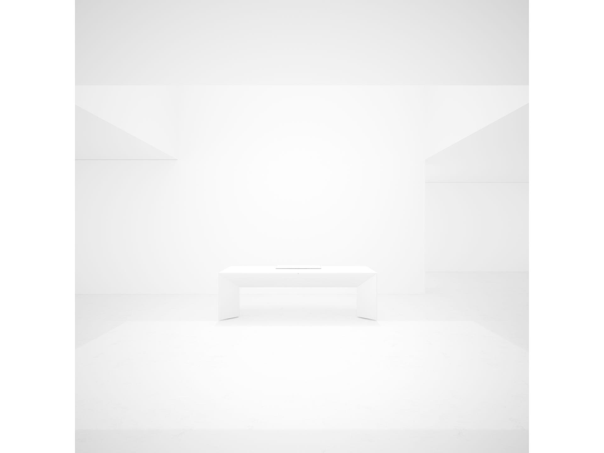 schreibtisch modern marmor wei felix schwake. Black Bedroom Furniture Sets. Home Design Ideas